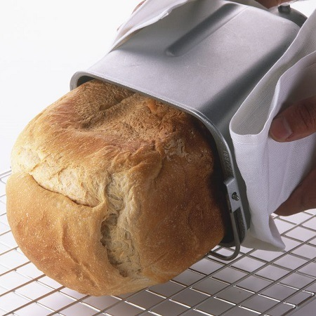 Pulling Bread From Inner Pan