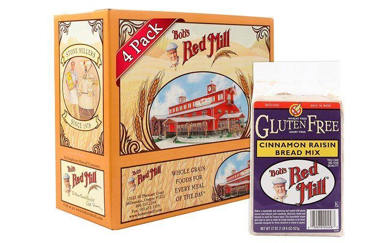 Bob's Red Mill 4-Pack Gluten Free Cinnamon Raisin Bread Mix