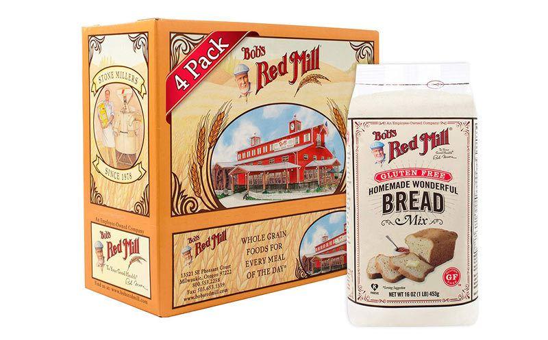 Bob's Red Mill 4-Pack Gluten Free Wonderful Bread Mix