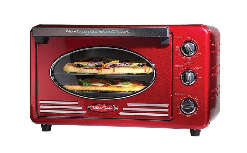 Nostalgia Retro 12 Slice Convection Toaster Oven RTOV220