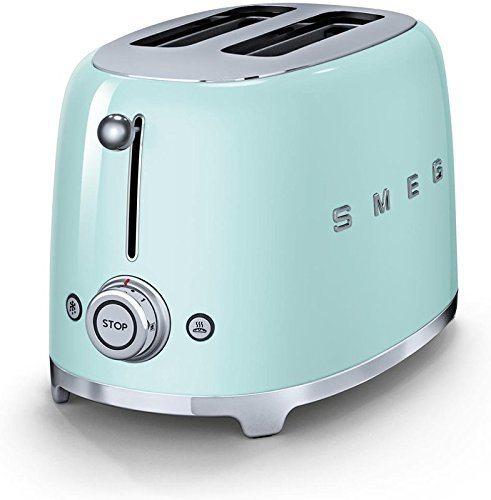 Smeg Retro Style Toaster TSF01PGUS