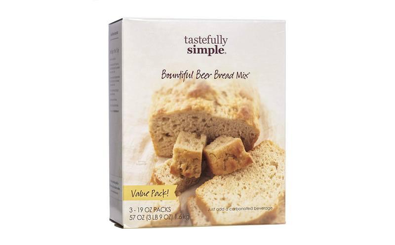 Tastefully Simple 3-Pack Bountiful Beer Bread Mix