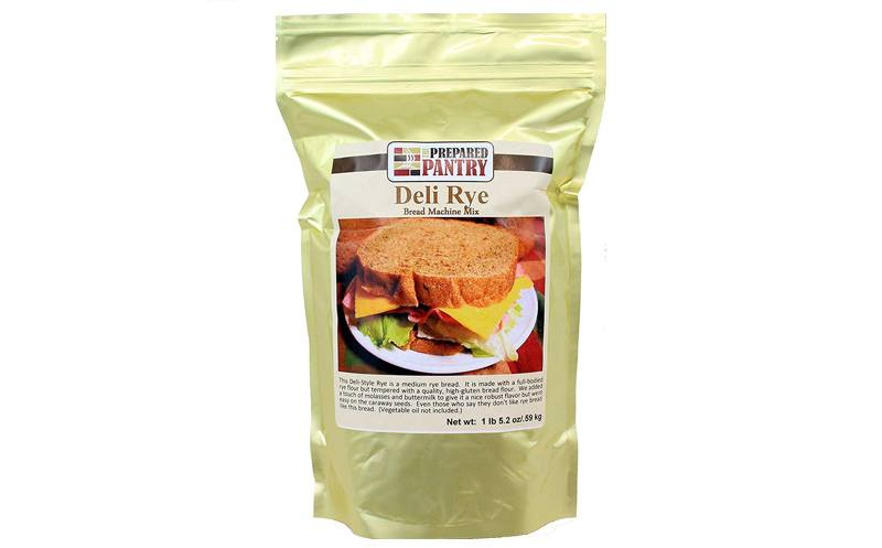 The Prepared Pantry 4-Pack Deli Style Bread Machine Mix