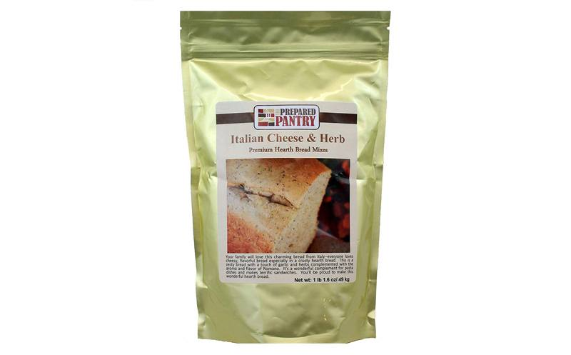 The Prepared Pantry Italian Cheese and Herb Gourmet Bread Machine Mix