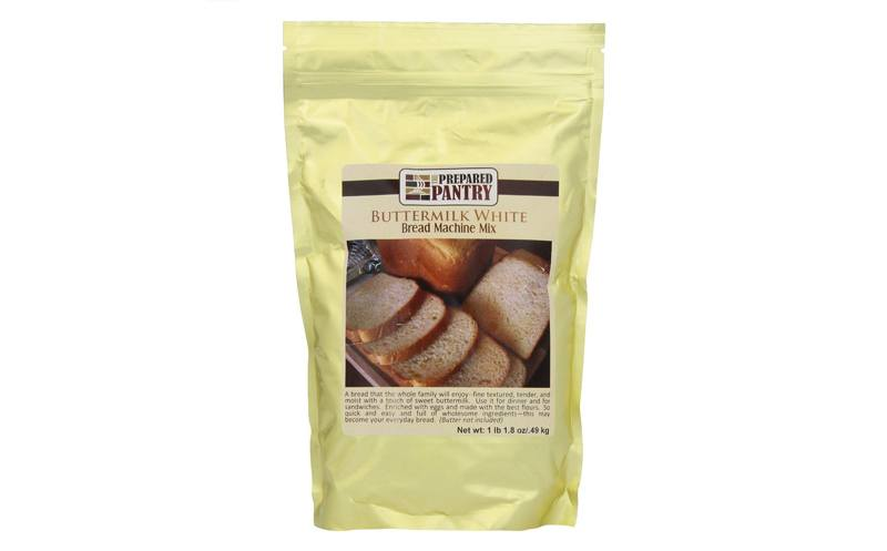 The Prepeared Pantry 4-Pack Buttermilk White Bread Mix