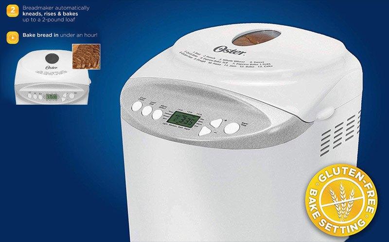 Oster 2-Pound Expressbake Bread Machine Review